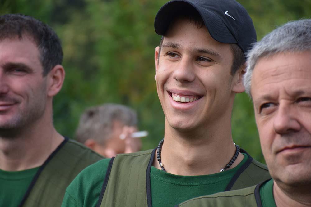Mate Gospić iz Škabrnje,  18 godišnji vrstan lovac i strijelac, položio je lovački ispit u Capreolusu